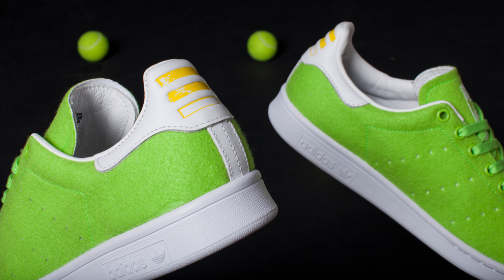 pharrell williams x adidas originals stan smith tennis pack sneaker gazer. Black Bedroom Furniture Sets. Home Design Ideas