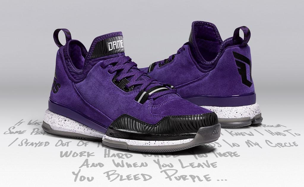 sports shoes 1e32a 93ba5 sweden adidas d lillard 1 weber state 01 b797a fbeb8
